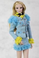 Fashion Royalty Elise Key Pieces (Regina&Galiana) Tags: fashionroyalty integritytoys doll fashion barbie outfit gucci inspired by ebay