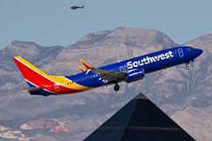 N8697C 737 SOUTHWEST (Paul Rowbotham) Tags: southwest 737800 n8697c 737ng luxor lasvegas klas