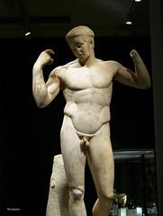 atleta VI (wsrmatre) Tags: greek grec griego antigüedad antiquité antiquity greece grèce grecia wsrmatre ericlopezcontini wsrmatrephotography museum museo musée caixaforum escultura sculpture art arte
