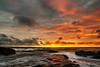 Southerndown Sundown (Solent Poster) Tags: southerdown beach southwales sunset sunrise pentax k1 2470mm