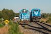 Back Up (ajketh) Tags: lc lancaster chester freight train railroad shortline emd ge general electric gp382 3821 rs3l d840c 9146 industrial restriction springmaid line 12 richburg sc south carolina