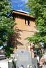 Dzwonnica (XIX w) na cmentarzu przy kościele w Prandocinie (Polek) Tags: polska europe małopolskie woodenarchitecture structure budowla poland krakowski lesserpoland architecture dzwonnica europa prandocin architekturadrewniana architektura belltower wieża tower canonefs18200mmf3556is