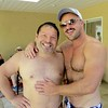 IMG_9773 (danimaniacs) Tags: guy male man shirtless hunk hot sexy hat cap hairy bryanthompson smile beard scruff
