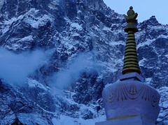 Monastery in Thame in Nepal (milia imagines) Tags: buddhism tibet a6500 sony thame mountains nepal