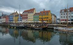 Copenhagen (14) (Vlado Ferenčić) Tags: copenhagen vladoferencic citiestowns cities danska vladimirferencic denmark nyhavn nikond600 nikkor173528 cloudy clouds water sailboat sky