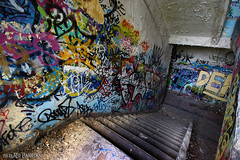 Stairs (Red Cathedral uses albums) Tags: redcathedral aztektv sony alpha slt mkii sonyalpha a77ii a77 dslr sonyslta77ii translucentmirrortechnology wanderlust digitalnomad streetart urbanart contemporaryart graffiti urbex hiking protest activism alittlebitofcommonsenseisagoodthing travellingphotographer travel fort chartreuse urbandecay liege liège luik luttich eventcoverage streetphotography cosplay larp livinghistory stairs trappen escalier stairway