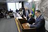 CCS - Conselho de Comunicação Social (Senado Federal) Tags: ccs conselhodecomunicaçãosocial eleição daviemerich joséfranciscodearaújolima votação voto urna brasília df brasil bra