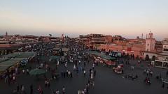 Evening at Djemaa el-Fna (Hector16) Tags: africa october morocco lavilladesorangers unescoworldheritagesite المَغرِب northafrica مراكش berber marrakech kingdomofmorocco marrakesh