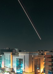 Plane Light Trails (ibtihajtafheem) Tags: