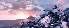 And rolled a flame, the fiery Heaven athwart (andreas sintenie) Tags: photoshopmasterpiece skyrim game screen shot capture fantasy elder scrolls image