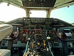 Cockpit DC-9-32 Aeronautica Militare. Volandia (diegoavanzi) Tags: dc9 mcdonnell douglas aeronautica militare museo volandia museum italia italy aereo airplane sony hx300 bridge