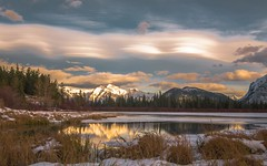 Banff (Mountain lakes dreaming) Tags: banff november ice blanc golden vermillionlakes