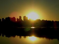 sunset (Joice Monteiro) Tags: entardecer lake city feflection lago sunset