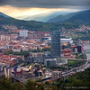 View over Bilbo | Bilbao | Euskadi | Basque Country (zzapback) Tags: bilbo bilbao guggenheim museo spain spanje espana baskenland euskadi basquecountry bizkaia biskaje cityscape panorma city view athleticbilbao stadion stadium clubathletic sanmames iberdrolatower lasalve bridge
