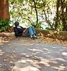conforto (luyunes) Tags: gente leitura leitor livro ler descanso pistaclaudiocoutinho cenaderua streetphoto verde motoz luciayunes