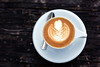 readiness (JonathanCohen) Tags: coffee cappuccino latteart food cup saucer spoon