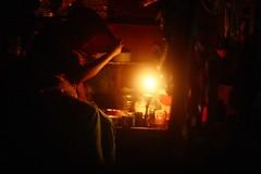 PARDA HAI PARDA (N A Y E E M) Tags: woman veil shopkeeper candid atmosphere ambiance light availablelight midnight shop street coxsbazaar bangladesh carwindow parda dopatta