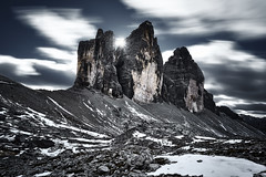 Tre cimes Italy (EtienneR68) Tags: city pays italie italy landscape montagne mountain hills paysage dolomites dolomiti colors bleu blue marque a7r2 a7rii sony type longexposure