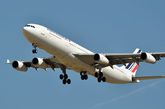 F-GLZH  CDG (airlines470) Tags: msn 78 a340311 a340 a340300 air france cdg airport fglzh