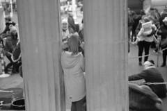 Lord Street, Southport (the underlord) Tags: southport nikon nikonrangefinder nikons2 nikkorh5cmf2 50mm fujineopanacros acros100 blackandwhite film kodakd76 7minutes15secondsatstock reindeer 35mmfilm rangefindercamera