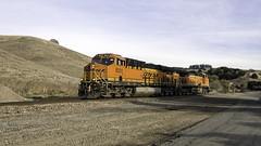 Evening Shadows (lennycarl08) Tags: burlingtonnorthernsantafe burlingtonnorthernsantaferailroad bnsf railroad trains stocktonsub franklincanyon california