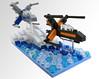 It's the Resistance! front quarter (agrahmann) Tags: lego afol legos moc brick star wars xwing microscale mini