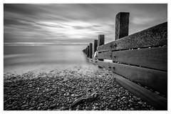 St Bees Groynes mono (jamesqgordon) Tags: sea groynes beach pebbles mono moochrome st bees seaside seascape