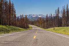 Lonely road between Yellowstone NP and Grand Teton NP (Tim&Elisa) Tags: usa wyoming landscape nature canon roadtrip grandteton grandtetonnationalpark mountains