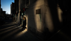 Holiday Reservations (Tuo Giorno Photography) Tags: lonely solemn street portrait portraitphotography lighting creativelighting natural naturallighting naturallight naturalphotography emotion sunlight city cityportrait corners angles