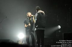 Gorillaz & De La Soul (P-ZiB) Tags: damonalbarn dave gorillaz delasoul humanztour concert zenith paris