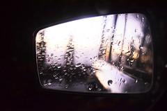 Specchietto retrovisore (Vincenzo Elviretti) Tags: serrone provincia frosinone lazio italia riflesso specchietto retrovisore renault 4 r4 pioggia peter gabriel