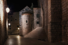 sleepwalking (cherryspicks (off)) Tags: dubrovnik croatia city urban street night light historic unesco architecture building