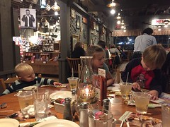 """Kai, Inde, and Paul at Cracker Barrel • <a style=""""font-size:0.8em;"""" href=""""http://www.flickr.com/photos/109120354@N07/38686173591/"""" target=""""_blank"""">View on Flickr</a>"""