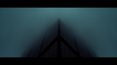 """4,129 """"Skyfall"""" (Panda1339) Tags: thegreat50mmproject usa cinematic dark chicago architecture fog widescreen il 2391 50mm"""