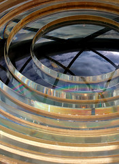 Lens (PJ Swan) Tags: lighthouse lens southstack anglesey wales