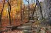 Petit Jean Colors (Nola Nate) Tags: arkansas petitjeanstatepark ibeauty fall colors autumn bearcavetrail trees landscape nature mountains