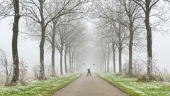 Fun in the fog (Ellen van den Doel) Tags: goeree november 2017 natuur winter vorst nature mist overflakkee frozen outdoor rijp outside fog cold denbommel zuidholland nederland nl