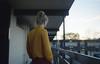 Charlotte (fraser_west) Tags: film 35mm analog motel girl kodak 400 yellow youth naturallight people sunset retro filmisnotdead wetheconspirators cinematic