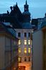 evening in the street (Wolfgang Binder) Tags: evening city street house building wien vienna windoes lights nikon d7000 zeiss planar planart2100