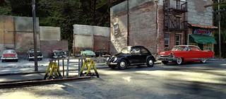 Demolished Building Parking Lot II