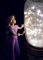 Take Me to Them (ozthegreatandpowerful) Tags: rapunzel custom doll disney store limited edition ooak reroot repaint dress embroidery