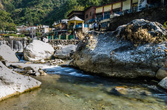 Deradun (sushovanbhowmik) Tags: waterfall rock hill landscape india deradun