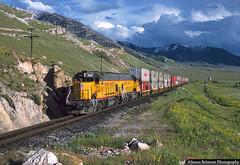 St. John to the Rescue (jamesbelmont) Tags: unionpacific stjohnlocal emd gp151 americanpresidentlines lakepoint utah apl railway