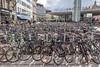 Where is my bike! – Subway Station, Copenhagen [Explored] (Nadine R*) Tags: parking copenhagen city bicycle