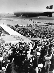 henry cord meyer image (San Diego Air & Space Museum Archives) Tags: grafzeppelin lz127 berlintempelhof airport airship