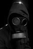 Fallout ? (Joachim Krawitsch) Tags: joachimkrawitsch pov portrait dark gas mask war endtime end days parka black white danger fear