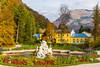 Fountain in the Kaiserpark (a7m2) Tags: kaiservilla kaiserpark badischl upperaustria habsburger history monarchie fountain