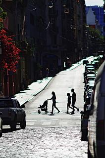 Cruzando la calle II