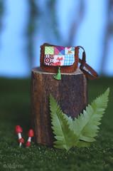 Forest Folklore, Patchwork Purse (*stellinna*) Tags: forestfolklore forestspirit forestfriends patchwork purse tiny miniature sewing blythe middie middieblythe bjd latidoll secretdoll doll handmade couture poupée stellinna