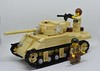 Sherman (design by Dips) (lucasphilippini) Tags: lego war ww2 wwii worldwar2 moc sherman tank soldier military army worldwarii